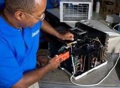 Repair window aircon